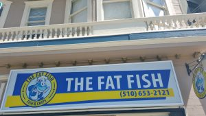 """The Fat Fish"" in South Berkeley"