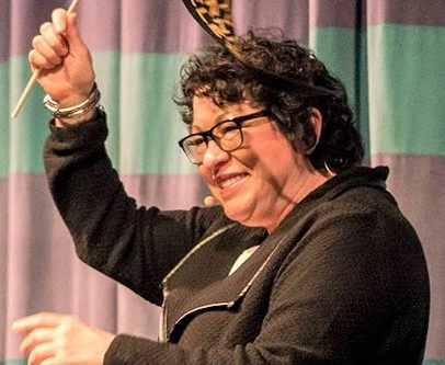 Supreme Court Justice Sonia Sotomayor pays a visit