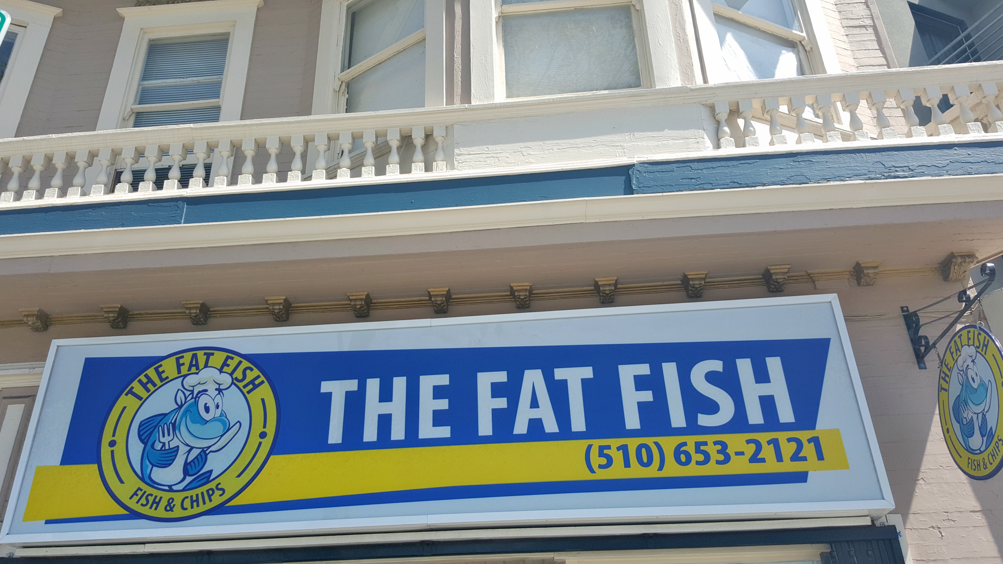 """The Fat Fish"" fried goodness in South Berkeley"